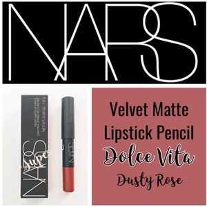 2/$20 NARS Velvet Matte Lip Pencil Dolce Vita Rose